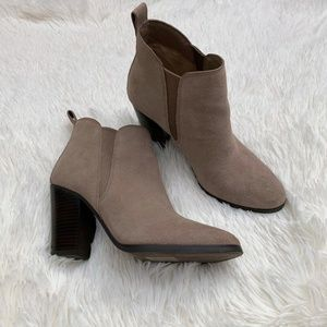 Michael Kors Brandy Suede Pull On Ankle Bootie